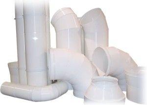 Фото: Пластиковые воздуховоды для вентиляции