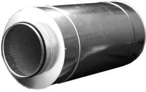 Фото: Шумоглушительь для круглых каналов