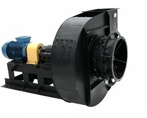 Фото: Канальный вентилятор с электродвигателем
