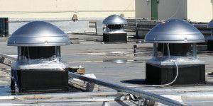 Крышные факельные вентиляторы