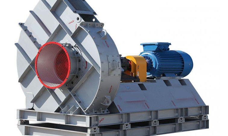 Фото: Радиальная (центробежная) установка