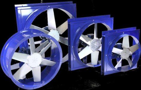 Реверсивный вентилятор