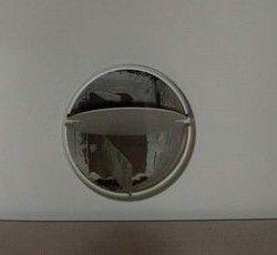 Фото: Вентиляционный клапан на оконцовке вентеляционной шахты