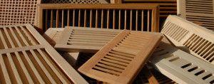 Фото: Декоративные деревянные элементы для вентиляции