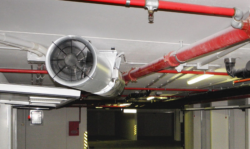 Один из факторов безопасности помещения - это противодымная вентиляция