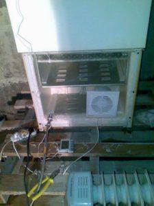 Морозильная камера в качестве конденсационного устройства