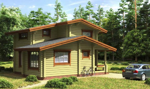 Фото: Для защиты деревянной постройки от сырости вам поможет естественная вентиляция