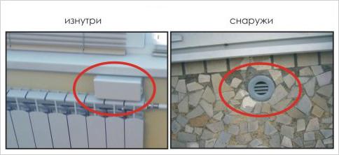 Стеновой приточный клапан - обеспечивает приток воздуха в помещение