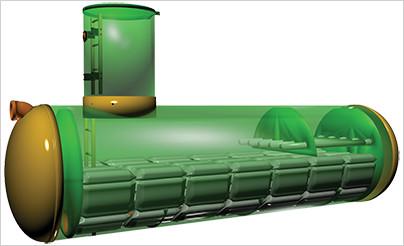 Данный фильтр предназначен для очистки стока до необходимой нормы сброса в водоемы