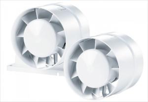Пары вентиляторов будет достаточно для эффективного воздухооборота