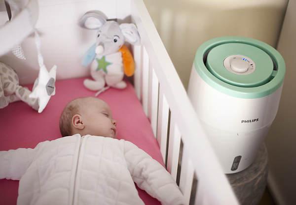 Philips HU 4801 можно использовать в детской комнате