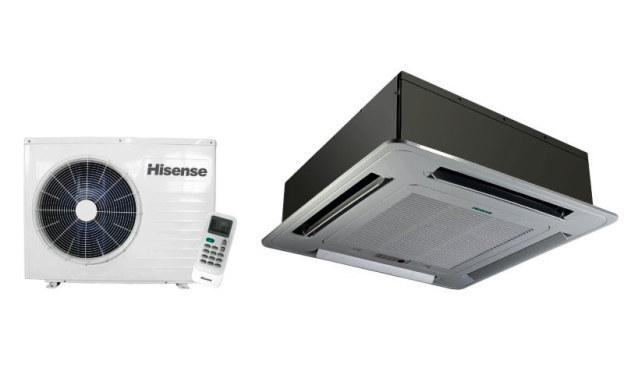 Для офисных помещений подходит кассетная сплит система