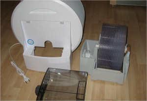 Особого внимания требуют пластиковые диски устройства