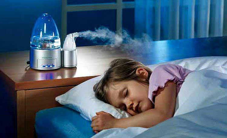 В детскую вибираете увлажнитель с низким уровнем шума