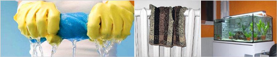 Варианты увлажнения воздуха в помещении