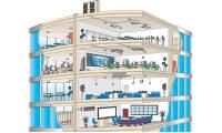 Для кондиционирования воздуха в офисных зданиях подойдет VRV мультисплит система