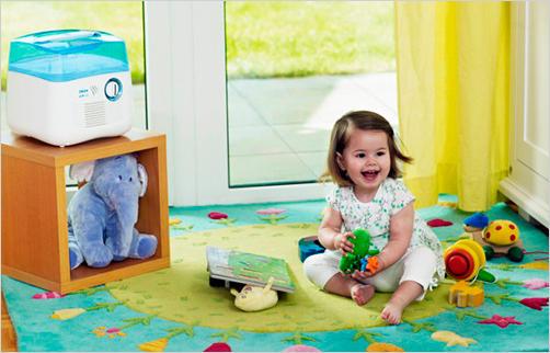 Здоровый микроклимат в детской комнате
