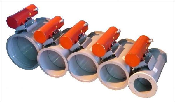 Взрывозащищенные устройства с электромеханическим приводом