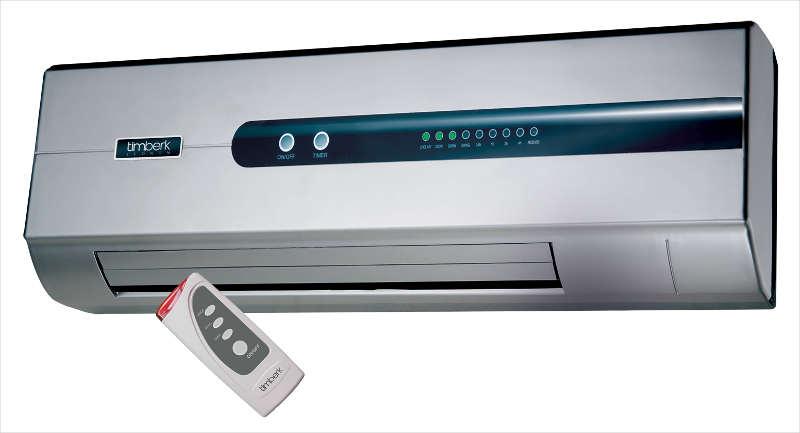 Большинство настенный вентиляторов оснащены пультом ДУ