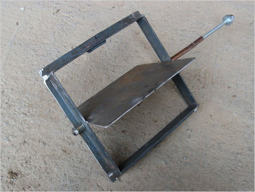 Конструкция поворотного типа, изготовленная самостоятельно