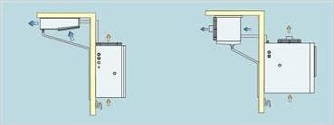 Схема расположение внешнего блока