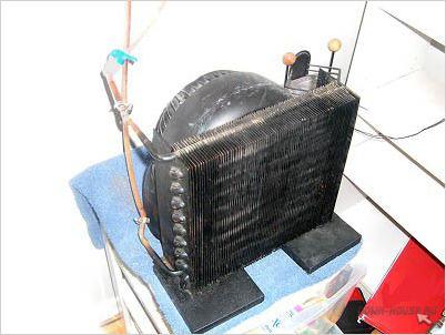Самодельный тепловентилятор