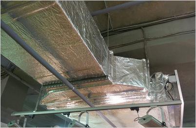 Несущие конструкции воздуховодов - металлический профиль