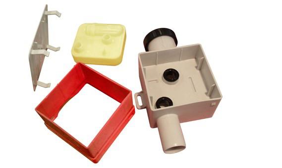 Фото: Запирающее устройство для отвода конденсата в канализацию