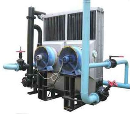 Воздух охлаждается благодаря множеству радиаторов