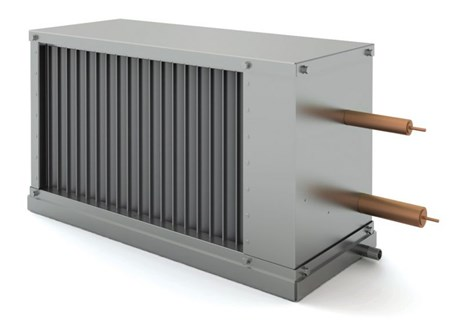 Канальный воздухоохладитель