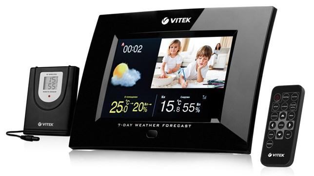 Vitek vt-6406 станция с 7 дюймовым экраном
