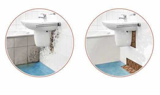 Какой должна быть мощность осушителя для ванной