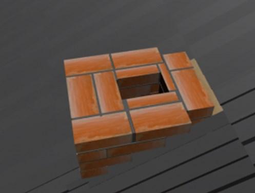 Перекрытие зазора между дымоходом и крышей
