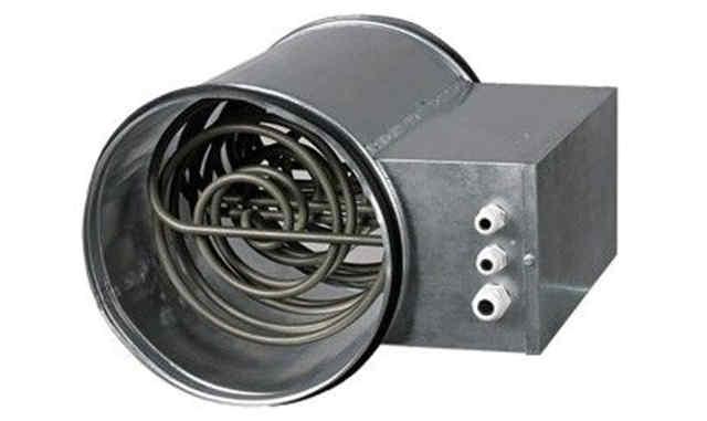 Устройство канальных нагревателей