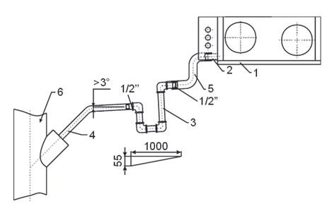 Схема подключения сифона