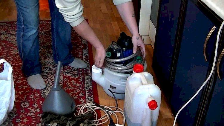Процедура промывки теплообменника
