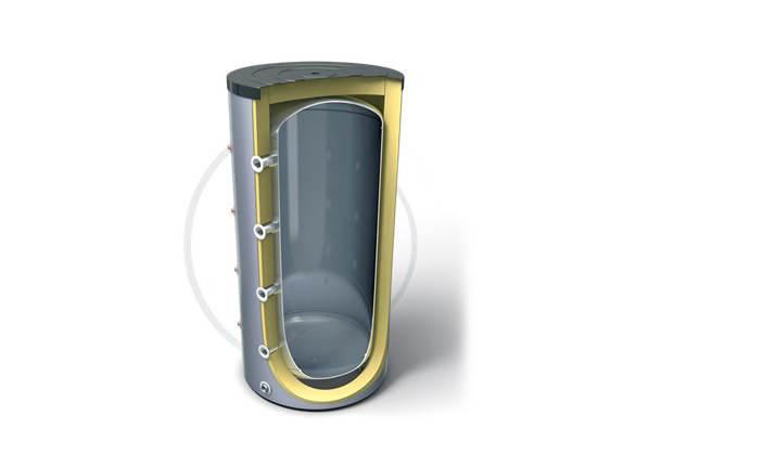 Фото: Схема обвязки буферной емкости