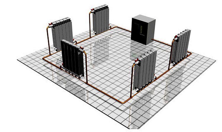 Однотрубная система отопления: типы и схемы