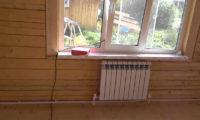• однотрубная система отопления для двухэтажного дома