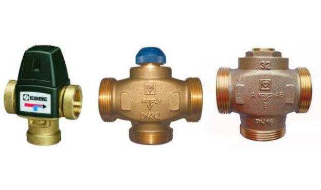 Обзор клапанов для системы отопления