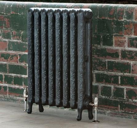 Чугунные радиаторы отличаются разнообразным дизайном