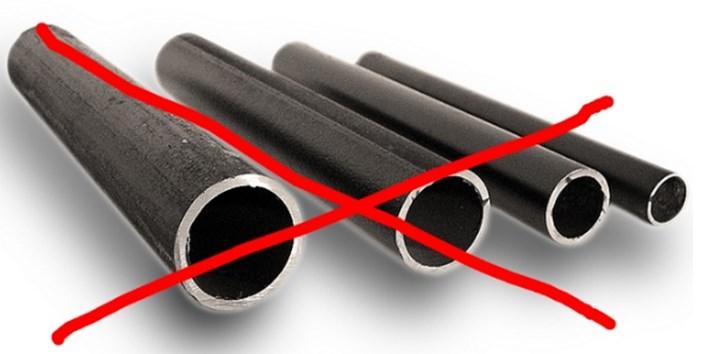 Чугунные трубы также не являются надлежащими для системы теплый пол