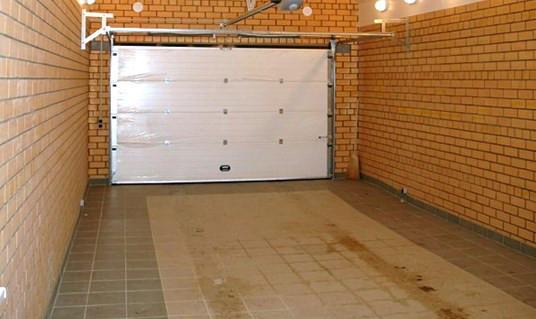 Делаем пол в гараже
