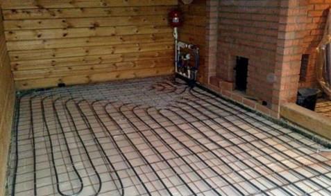 Совет по выбору напольного покрытия для бани