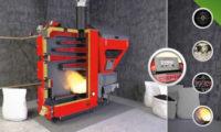 Обзор твердотопливных котлов с автоматической подачей топлива