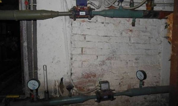 Фото: Принцип работы элеваторного узла системы отопления