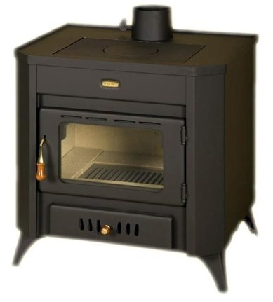Однокамерная печь прямого горения