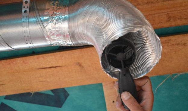 Проверка вентиляционных каналов