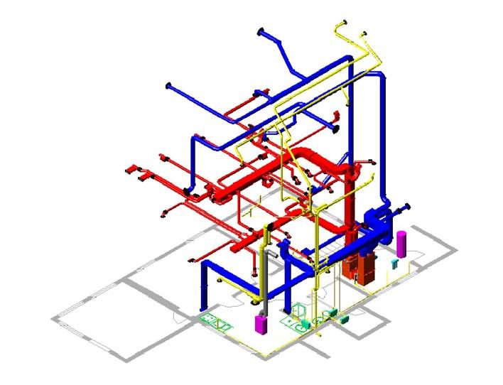 Расположение вентиляционных каналов