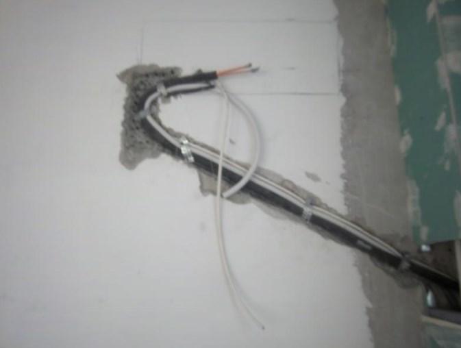 Учитывайте объем труб с теплоизоляцией для прокладки штробы